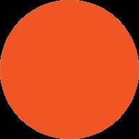 Kreis orange 200