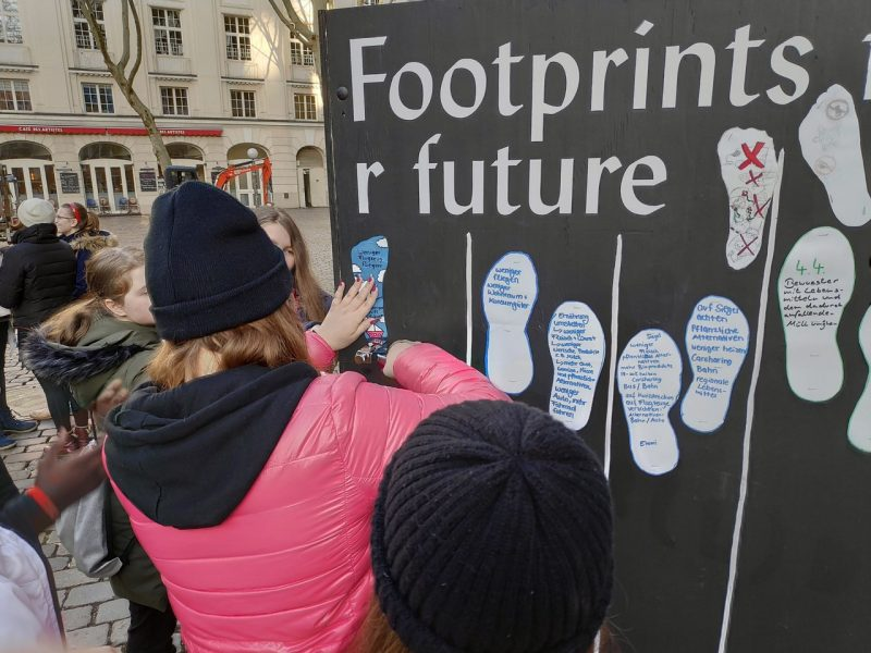 FOOTPRINTS AND MOVE FOR FUTURE